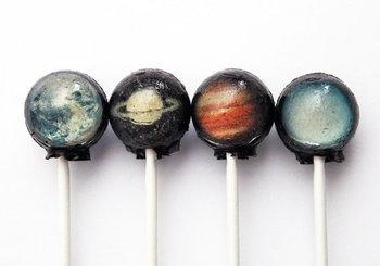太陽系の惑星飴